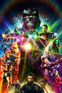 800x1280 Avengers Infinity War Artwork 2018 HD