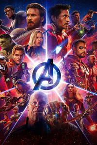 480x854 Avengers Infinity War Movie Imax Poster