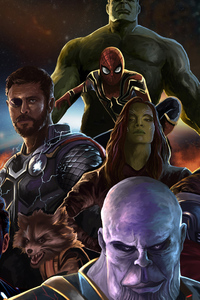 Avengers Infinity War 1440x2960 Resolution Wallpapers Samsung Galaxy