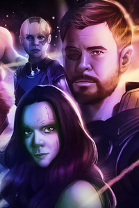 Avengers Infinity War Part One Artwork