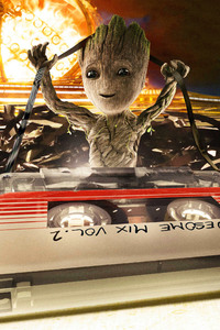 Baby Groot Empire Magazine Cover