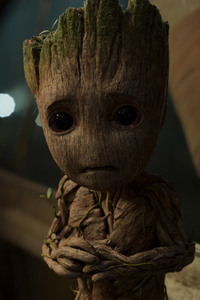 Baby Groot In Guardians of the Galaxy Vol 2