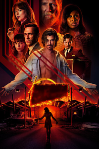 720x1280 Bad Times At The El Royale Movie 8k