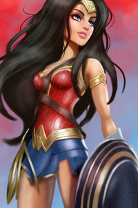 320x568 Barbie Wonder Woman