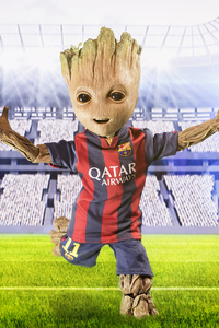 640x960 Barcelona New No 10 Baby Groot