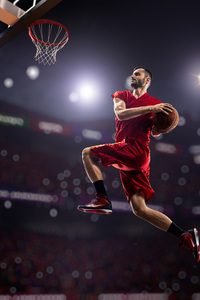 800x1280 Basketball Man Jumping Playing 8k