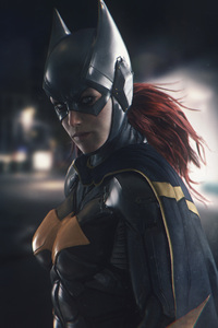 Batgirl Digital Art