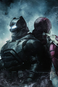 Batman And Iron Man