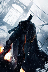 1125x2436 Batman Arkham Origins Arts
