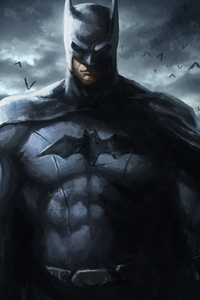 Batman Art 4k