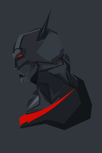 2160x3840 Batman Beyond Minimalism