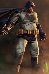 320x568 Batman Dark Knight Art 5k