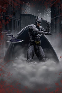 1280x2120 Batman Game Over 5k