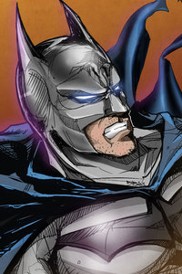 640x960 Batman Illustration 5k