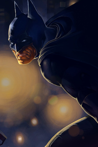 360x640 Batman Knight Art