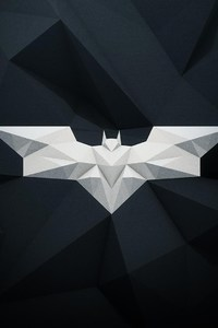 Batman Logo Graphic Design