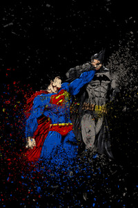320x480 Batman Vs Superman Ruggon Style