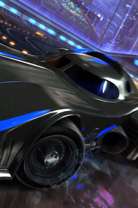 640x960 Batmobile Rocket League Dlc 4k