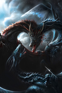 800x1280 Battle Of Dragons Game Of Thrones 8k