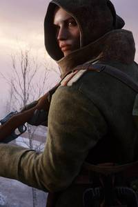 Battlefield 1 Girl Warrior 4k