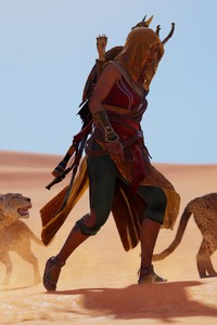 2160x3840 Bayek Assassins Creed Origins Ubisoft 5k