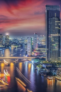 640x1136 Beautiful Bangkok City