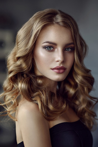 240x320 Beautiful Face Blonde Girl 4k