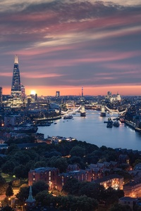 360x640 Beautiful London City View 8k