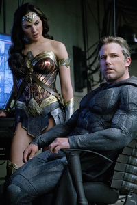 Ben Affleck As Batman Gal Gadot Wonder Woman Justice League 2017 4k