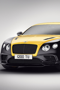 640x1136 Bentley Continental GT 24 Gold Black