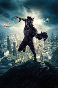 Black Panther 10k Poster · 720x1280 Black Panther 10k Poster