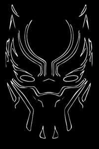 2160x3840 Black Panther 4k Artwork