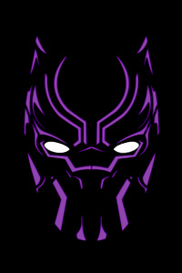 640x1136 Black Panther Illustration 4k Artwork