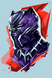 Black Panther Marvel Heroes Art