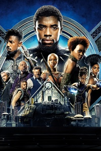 360x640 Black Panther Movie 2018 8k