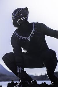 320x568 Black Panther The Protector Of Wakanda