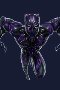 Black Panther Vibranium Suit