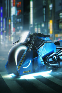 Blade Runner Spinner Bike Harley Davidson V Rod Muscle