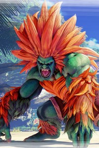 800x1280 Blanka Street Fighter V 8k