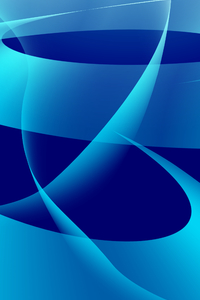 320x568 Blue Abstract 4k Background