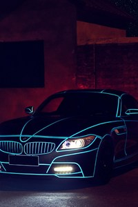 480x854 Bmw Z4 Lights