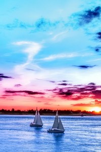 480x800 Boats Nature