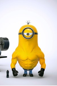 1080x1920 Bodybuilder Minion