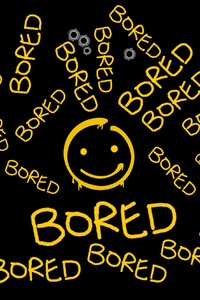 320x480 Bored Typography
