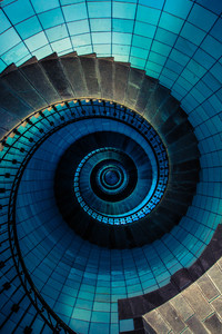 1080x2160 Brittany France Stairs Abstract