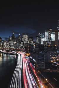 1125x2436 Brooklyn Bridge Cityscape Long Exposure Road Manhattan 8k