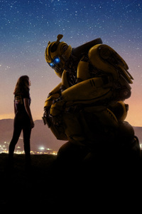1440x2960 Bumblebee Movie 2018 Cool New Poster 5k