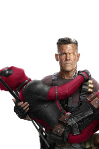 Cable And Deadpool In Deadpool 2 5k