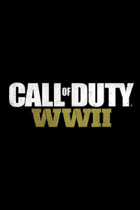 Call Of Duty WW2 Logo 8k