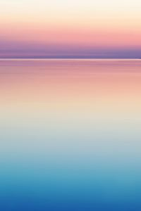 480x854 Calm Peaceful Colorful Sea Water Sunset